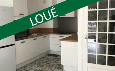 -Loué- appartement type F2